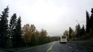 Buss på holdeplass